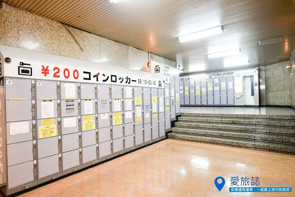 东京车站置物柜 00