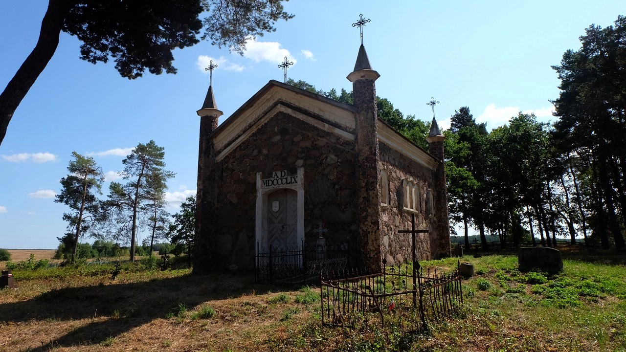 Часовня на старом католическом кладбище, Коссово, Беларусь