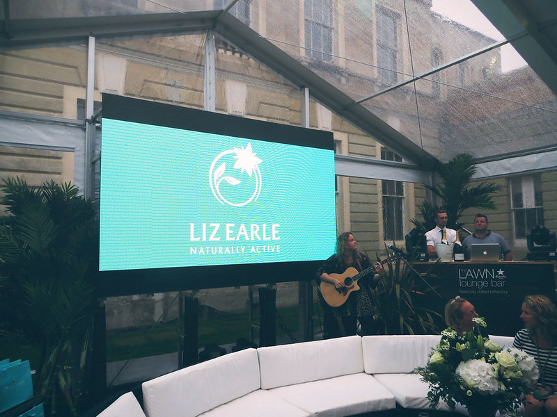 liz earle reception