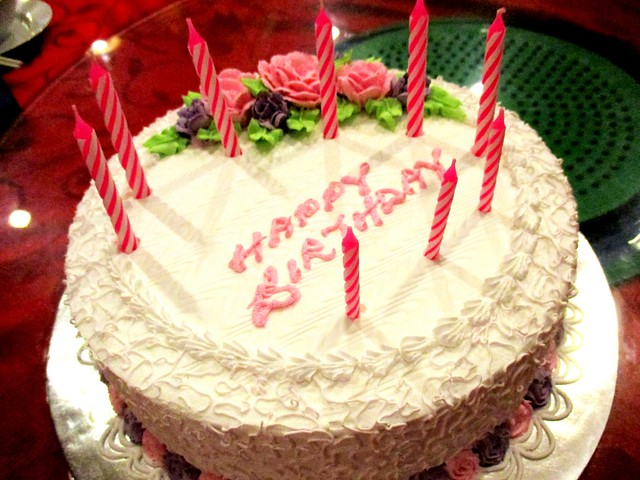 Marcus birthday cake
