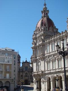 Bilde av María Pita. geotagged spain coruña galicia ayuntamiento sanjorge plazademariapita pedromariño