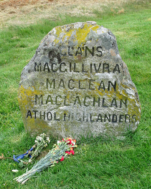 Culloden; Graves of Clans