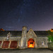 Benmore Stables At Night by Click And Pray