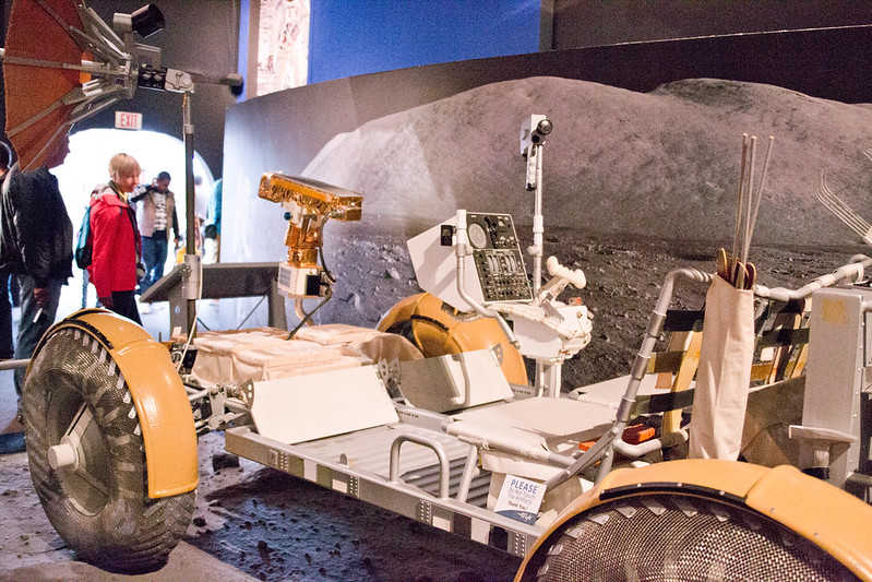 Apollo 17 Lunar Rover Model @ The Museum of Flight, Seattle, WA
