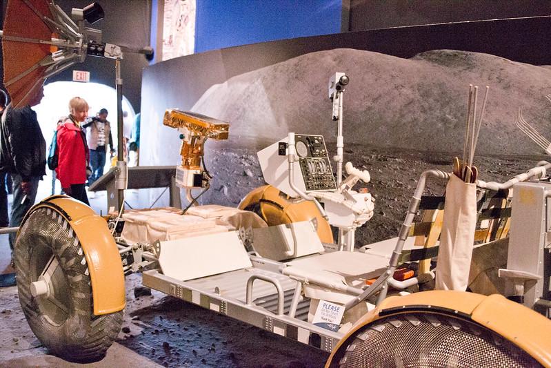 Apollo 17 Lunar Rover Model @ The Museum of Flight, Seattle, WA