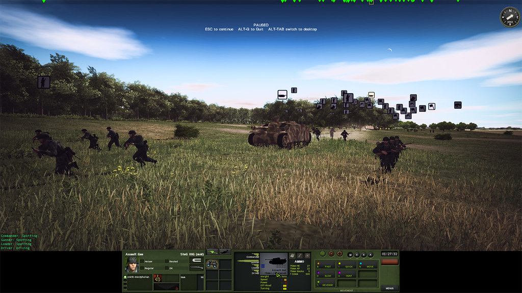 6_Combat_Mission_Red_Thunder_War_Movie_ADVANCED_mode