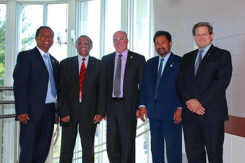 Visite d'une délégation de l'INSCAE de Madagascar