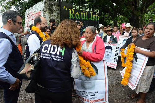 CIDH visita México