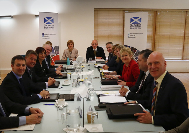 Scottish Cabinet in Coatbridge