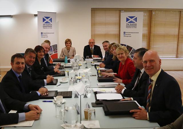 Scottish Cabinet in Coatbridge