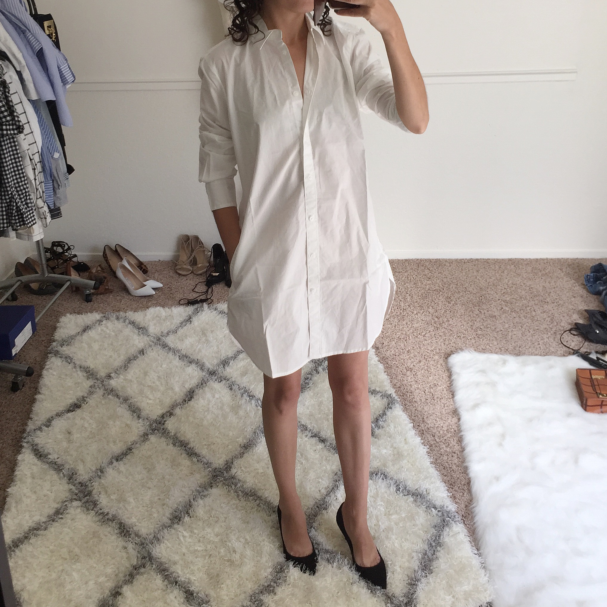 petite madewell tunic with pockets review