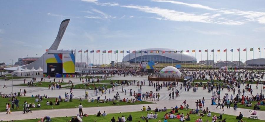 Туристам представлен обновленный Олимпийский парк