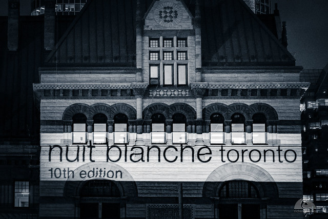 Nuit Blanche 10th Edition on Old City Hall