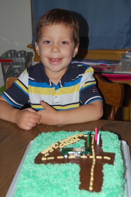 Happy 4th Birthday, Caleb!