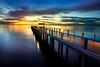 Bridge into the sea