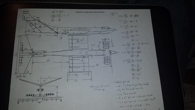Caspian Sea Monster rocket pre-planning