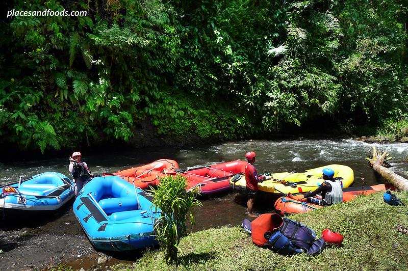 telaga raja river white river rafting rafts