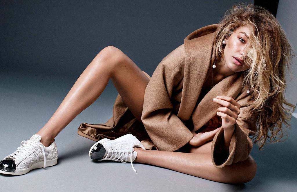 Джиджи Хадид — Фотосессия для «Vogue» NL 2015 – 1