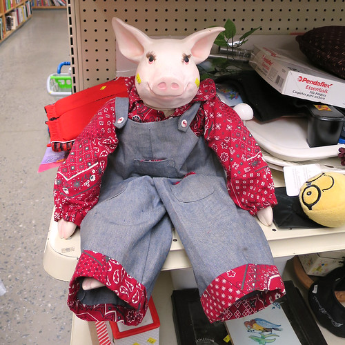 pig in overalls