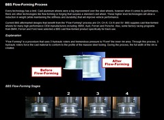 Flow Forming stages