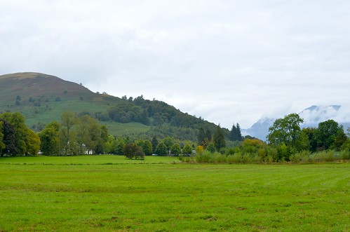 The countryside near Luss