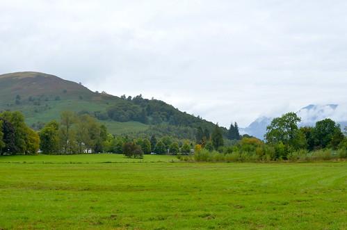 The countryside near Luss