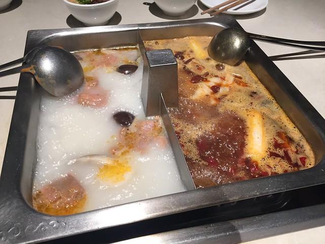 Hot pot dinner - Haidilao Hot Pot