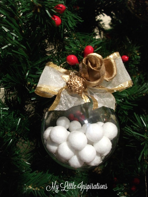 Clear Glass ornaments MLI 2