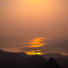 Small photo of Sunrise at Rajgad Fort.
