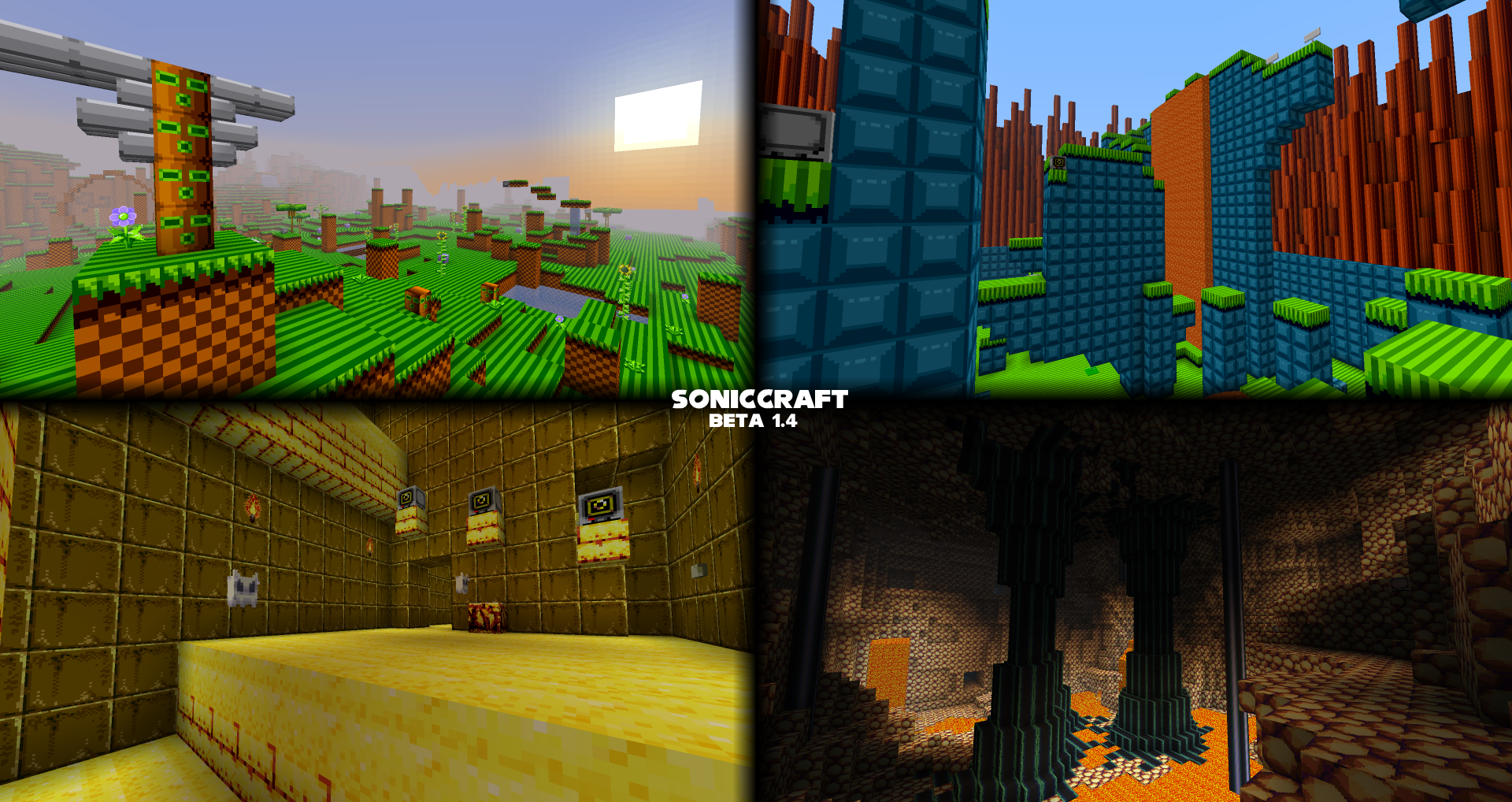 Adv Creation Includes Resource Pack Soniccraft Celebrating 20 Years Of Sonic 175 000 Downloads New Update Soon Maps Mapping And Modding Java Edition Minecraft Forum Minecraft Forum