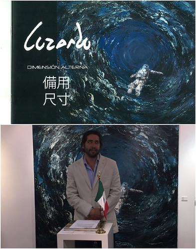 Inauguran en Hong Kong exhibición Dimensión Alterna del artista mexicano Pablo Luzardo