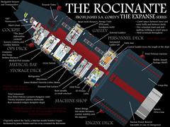 Rocinante (cutaway)
