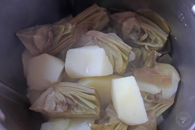 Crema de alcachofa granizado aove www.cocinandoentreolivos.com (39)