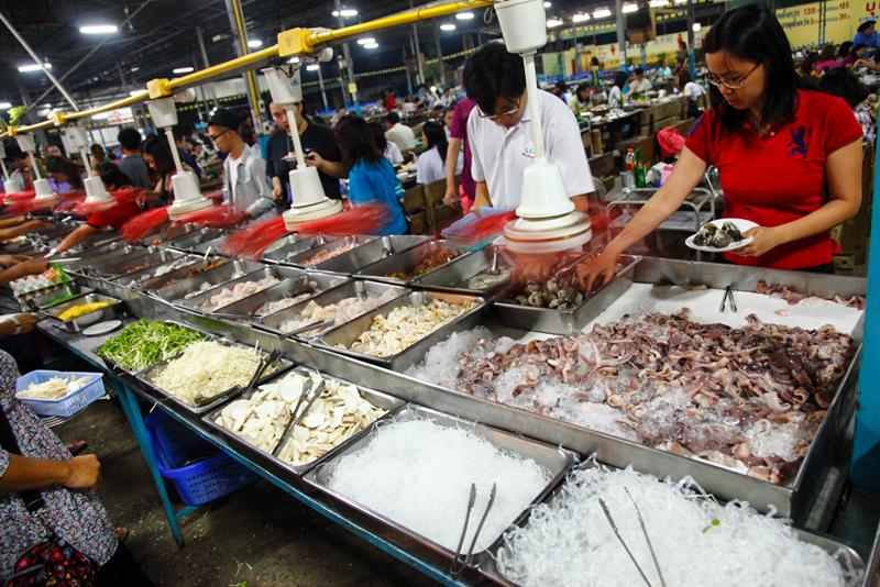 Sukontha Buffet Raw Seafood