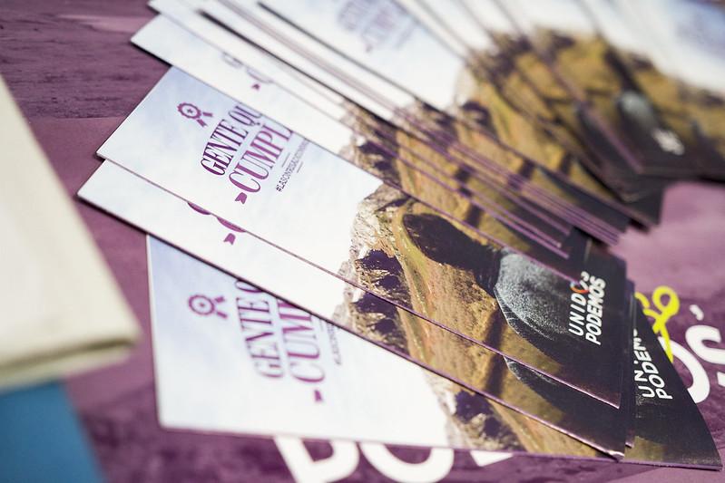 Reunión de círculos de Podemos, plataformas y representantes institucionales
