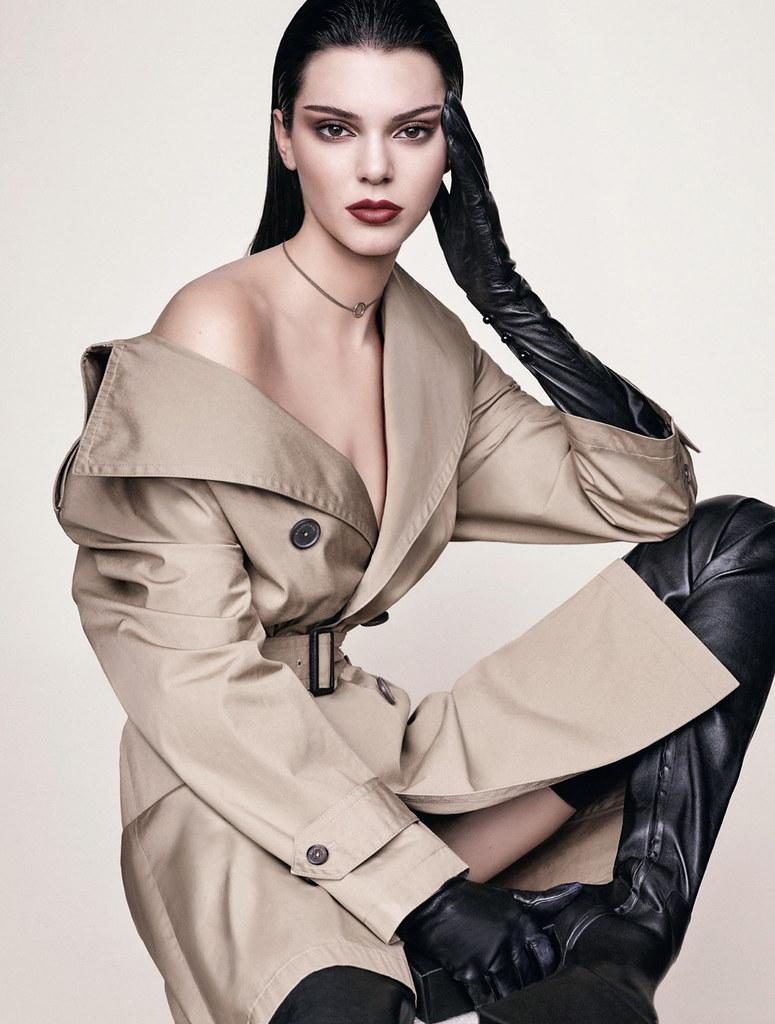 Кендалл Дженнер — Фотосессия для «Vogue» DE 2016 – 8