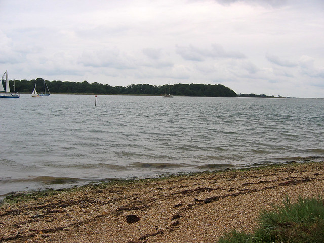 Bosham Hoe from Cobnor Point