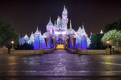 Sleeping Beauty Castle Xmas