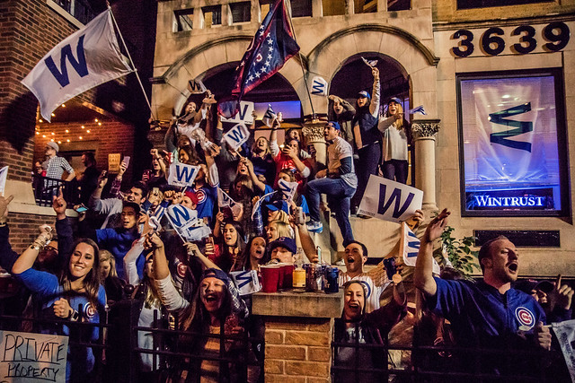 Chicago Cubs 2016 National League Championship Celebration - Wrigley Rooftops