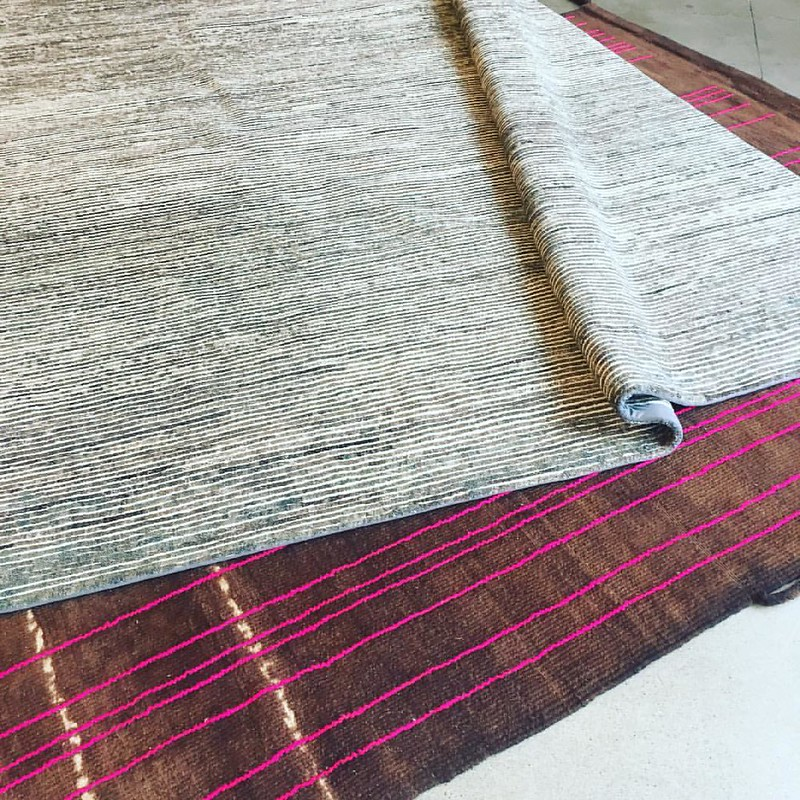 We love rugs with texture. #interiors #texture #designer