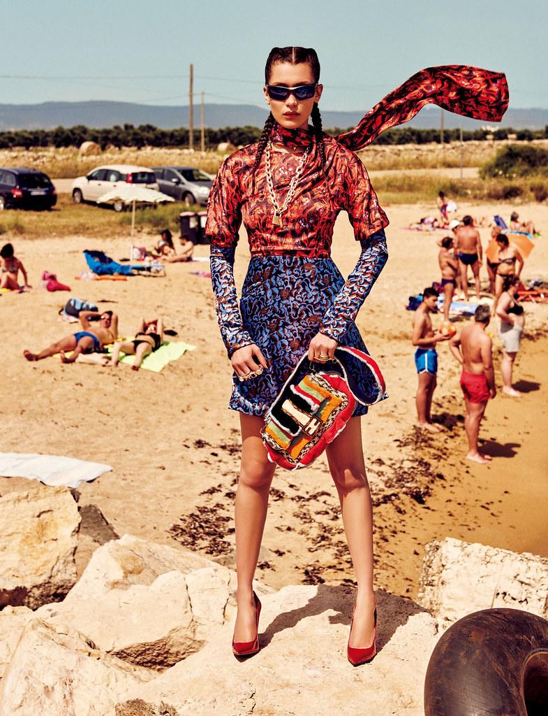 Белла Хадид — Фотосессия для «Vogue» JP 2016 – 10