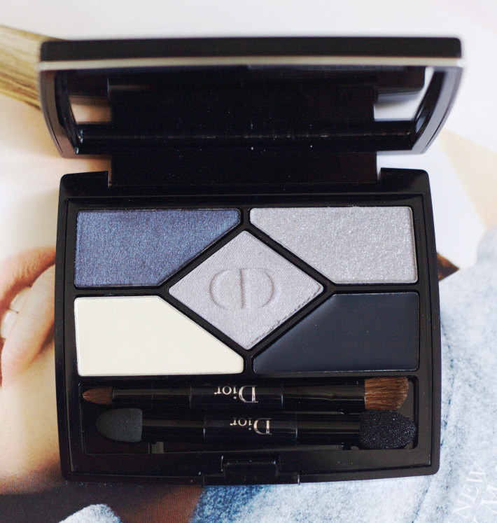 Beauty: Dior 5 Couleurs Designer palettes in Navy and Amber