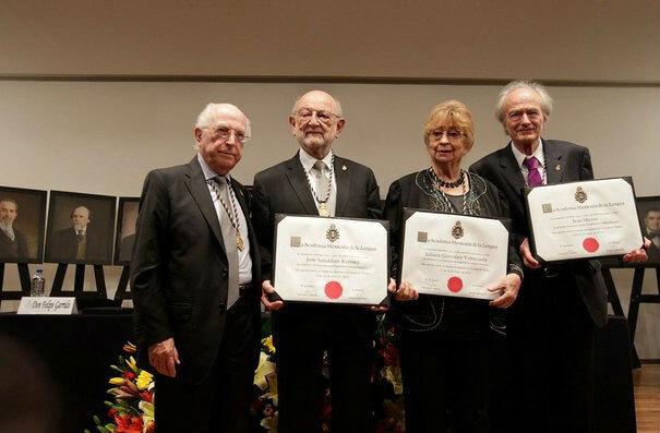 Academia Mexicana de la Lengua recibe a nuevos miembros