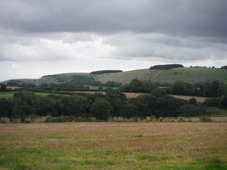 White Sheet Hill from the Wessex Ridgeway