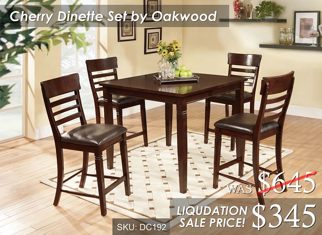 Cherry Dinette by Oakwood