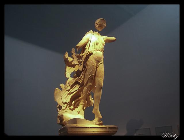 Grecia Olimpia Delfos - Victoria de Paeonios