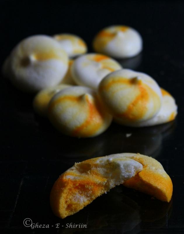 Vegan Meringue Cookies