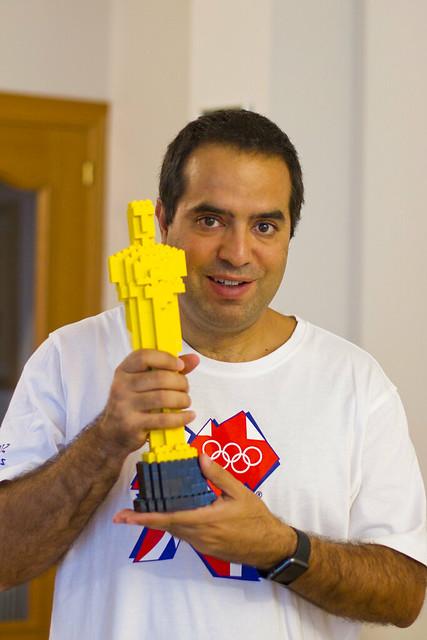 Nacho y su Oscar de Lego