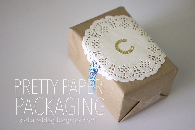 pretty paper packaging