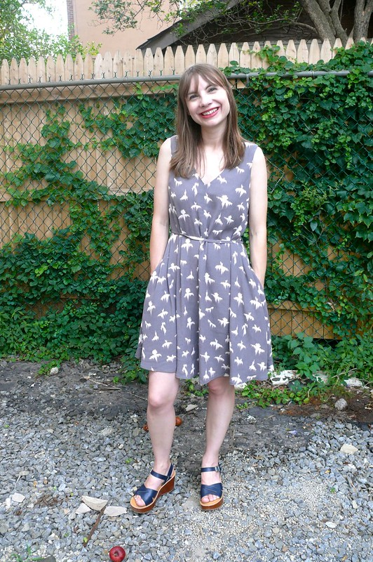 Papercut Patterns Sway Dress | Ginger Makes